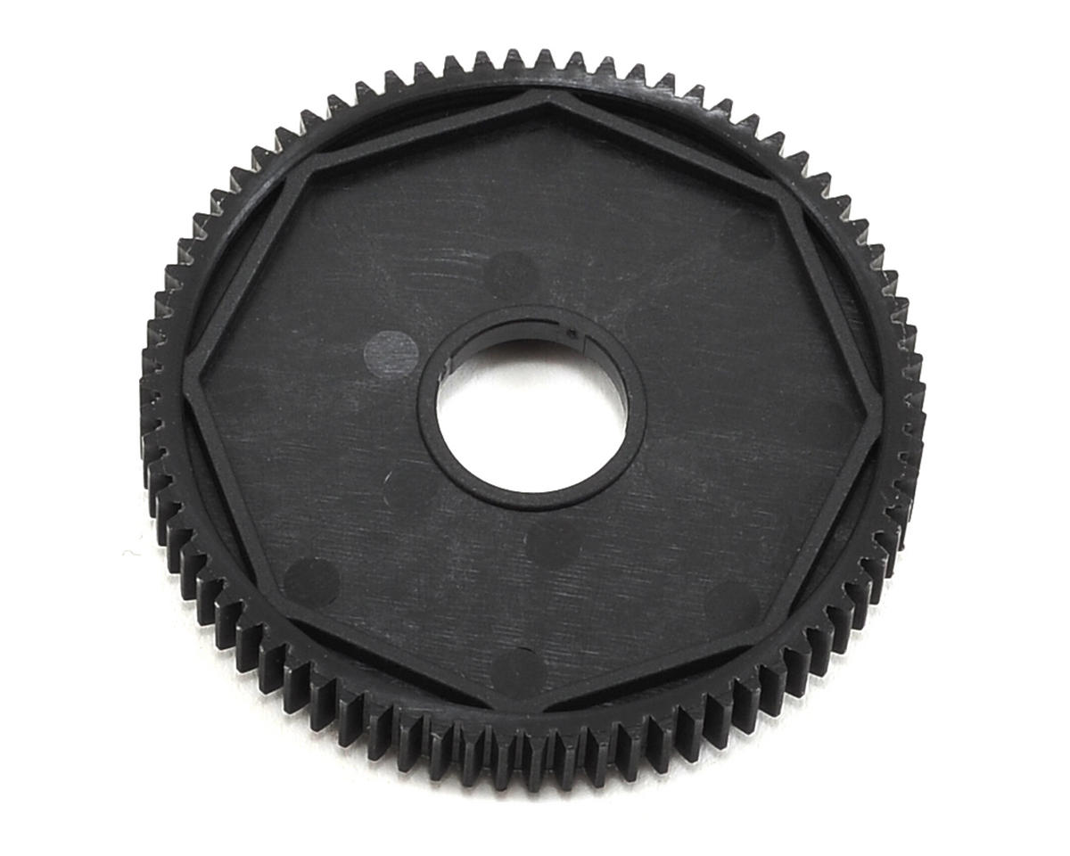 Composite 48P 3-Pad Slipper Clutch Spur Gear (75T) by XRAY