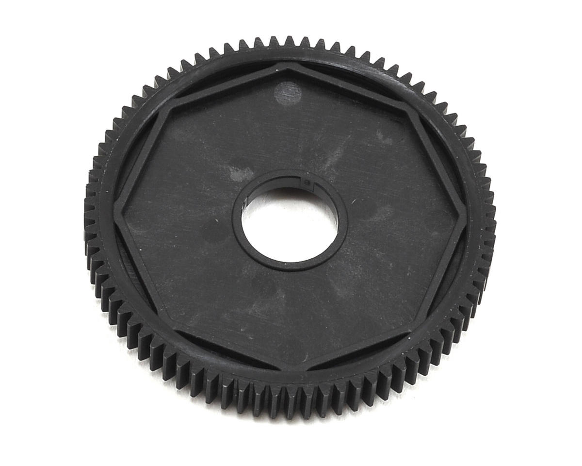 Composite 48P 3-Pad Slipper Clutch Spur Gear (78T) by XRAY