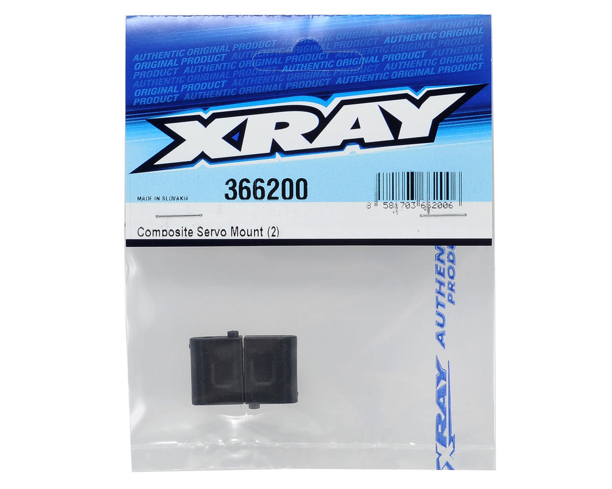 Composite Servo Mount Set (2) by XRAY