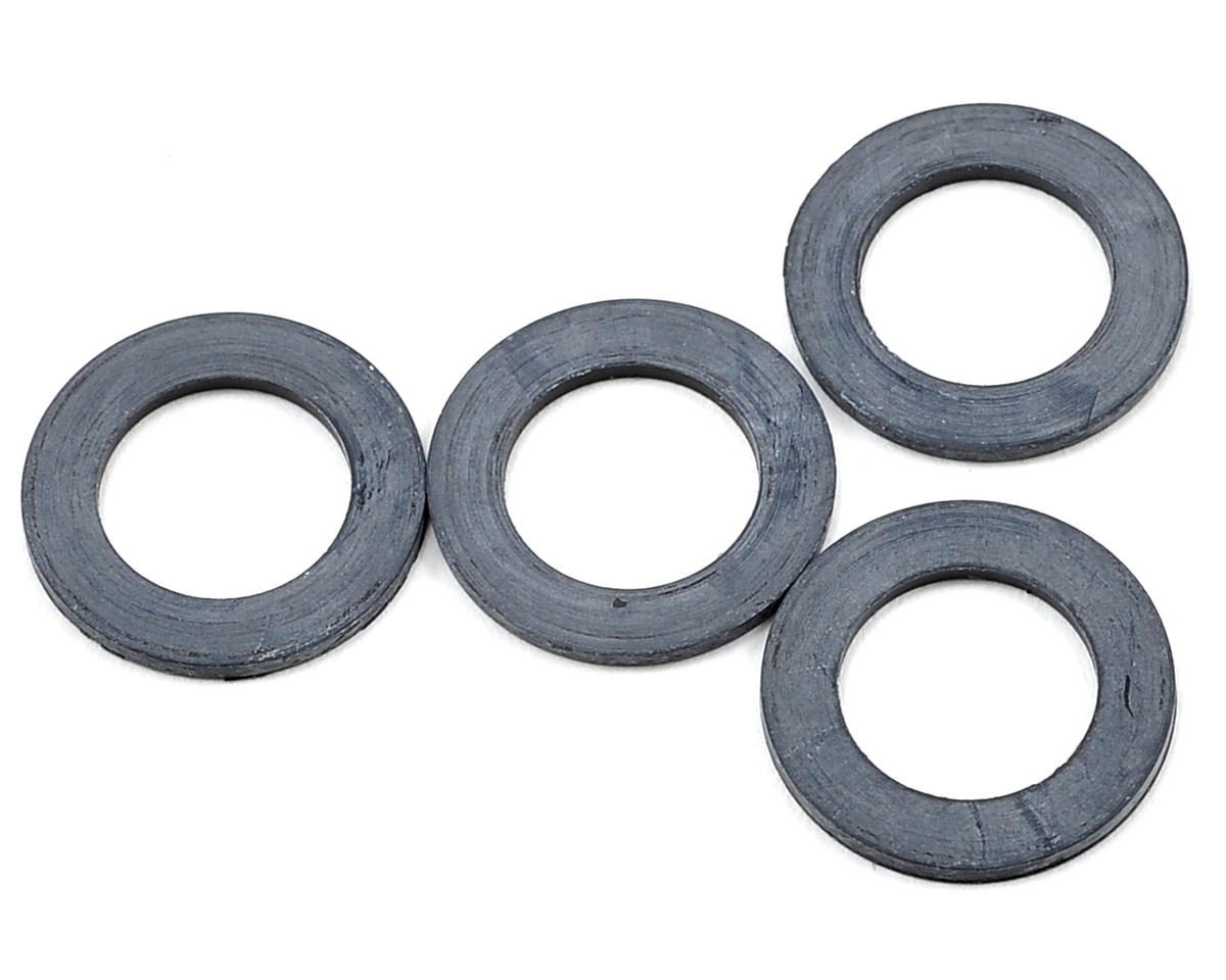 XRAY Rubber Shock Absorber Shim (4)