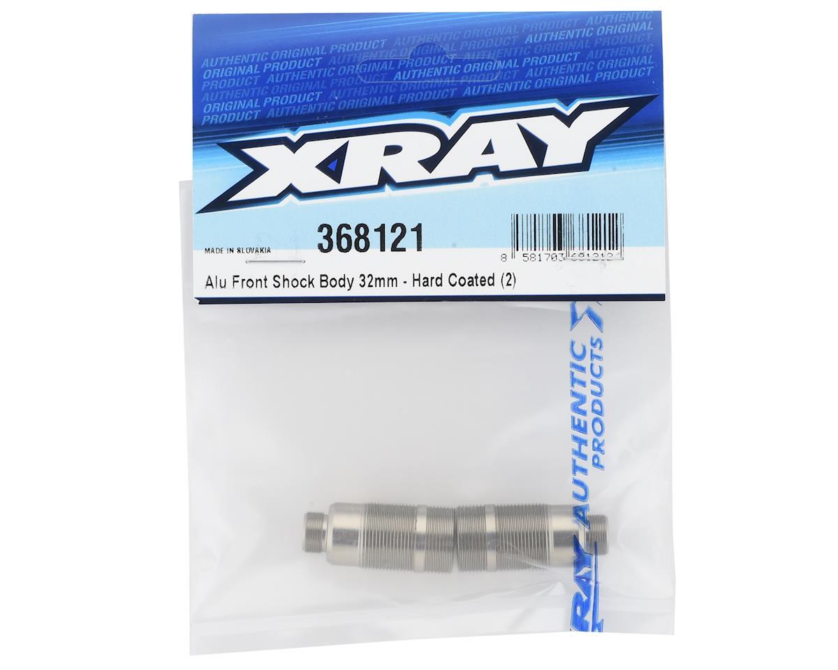 XRAY XB2 Aluminum Hard Coated Front Shock Body (2) (32mm)