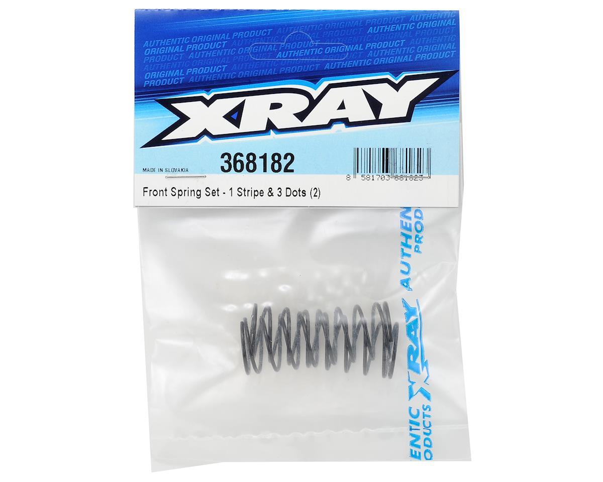 XRAY Front Shock Spring (2) (1-Stripe / 3-Dot)