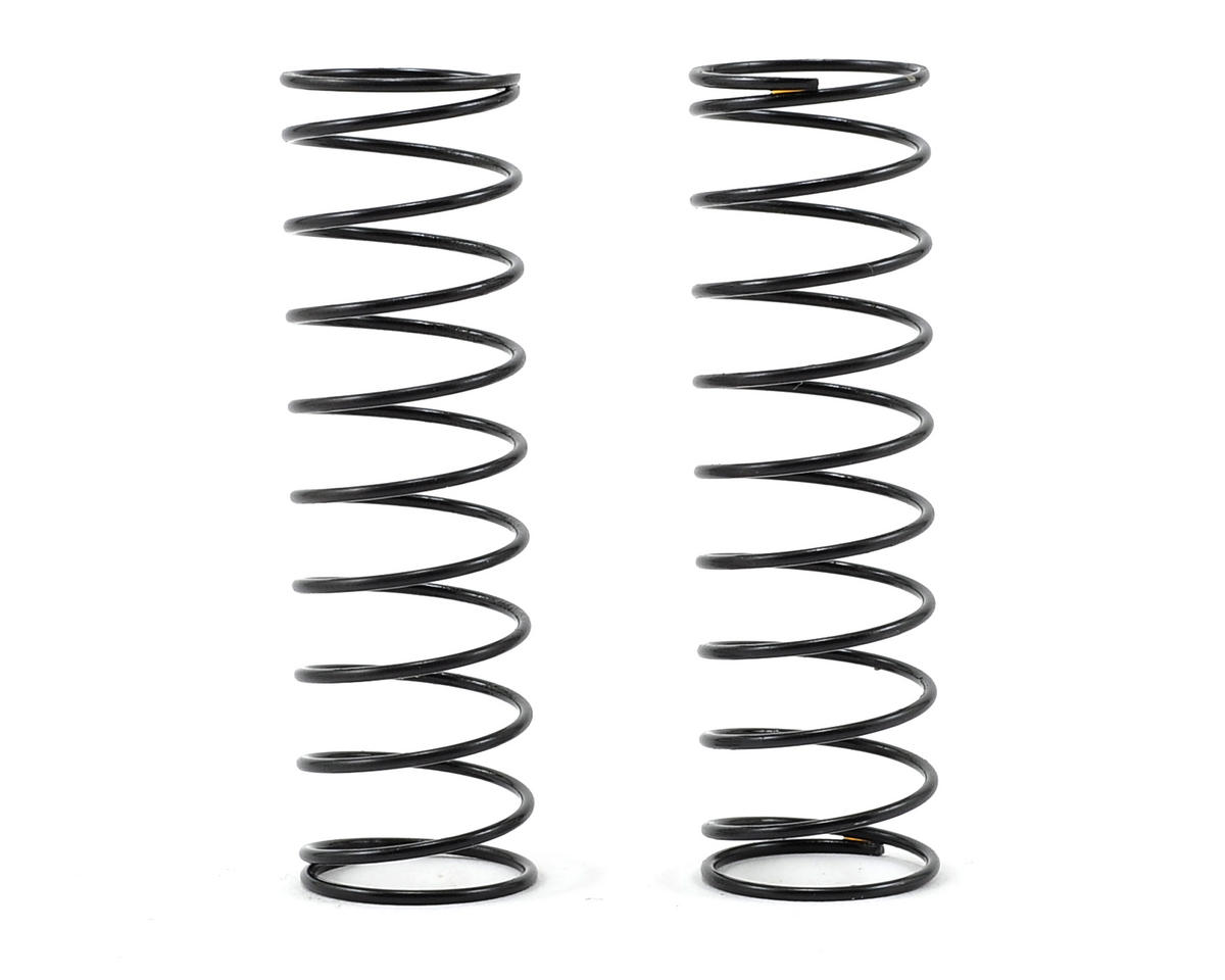 Rear Shock Spring Set (C=0.35/1-Dot) (2) by XRAY