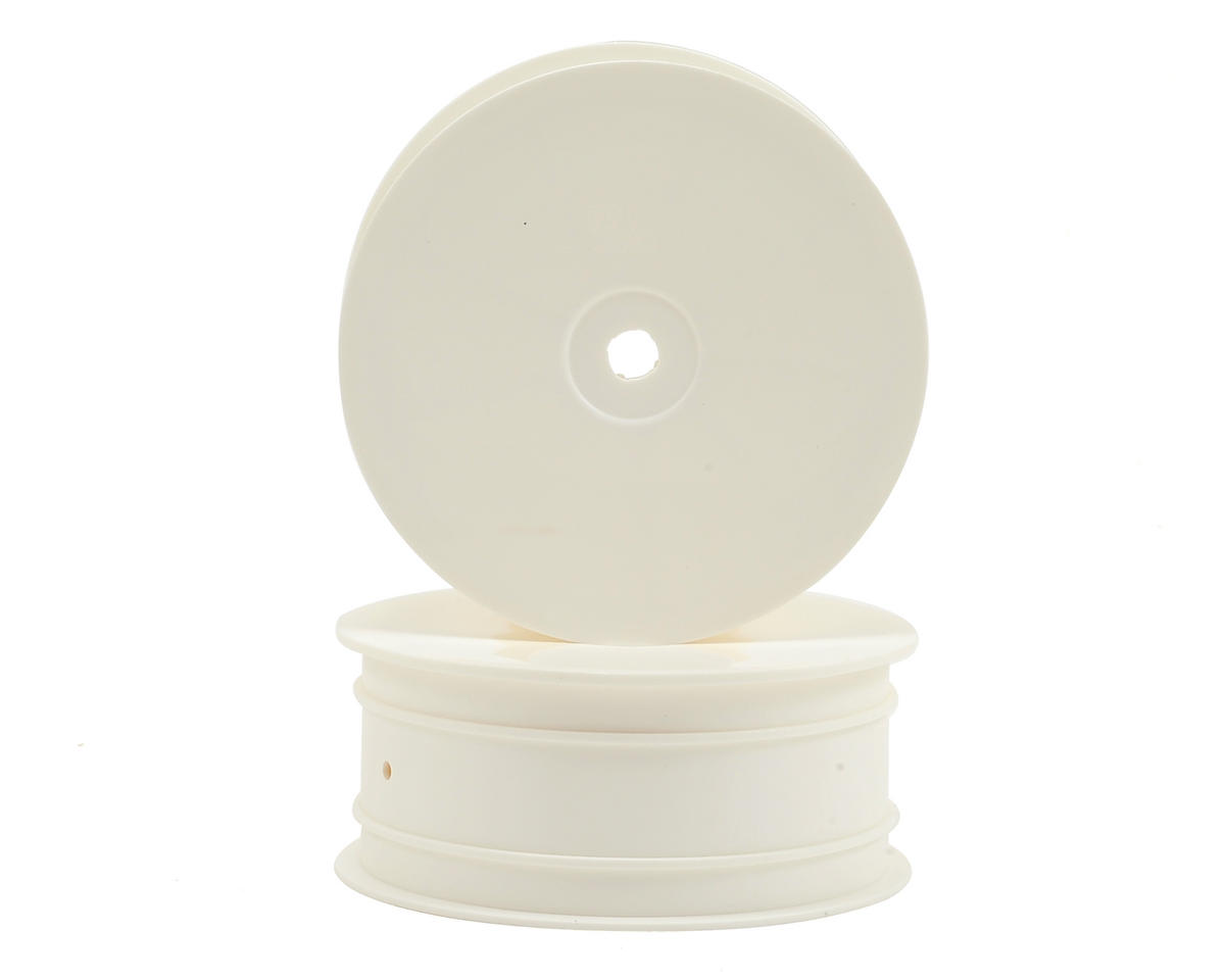 """XRAY 12mm Hex """"Aerodisk"""" 4WD Front Buggy Wheels (2) (White) (XB4)"""