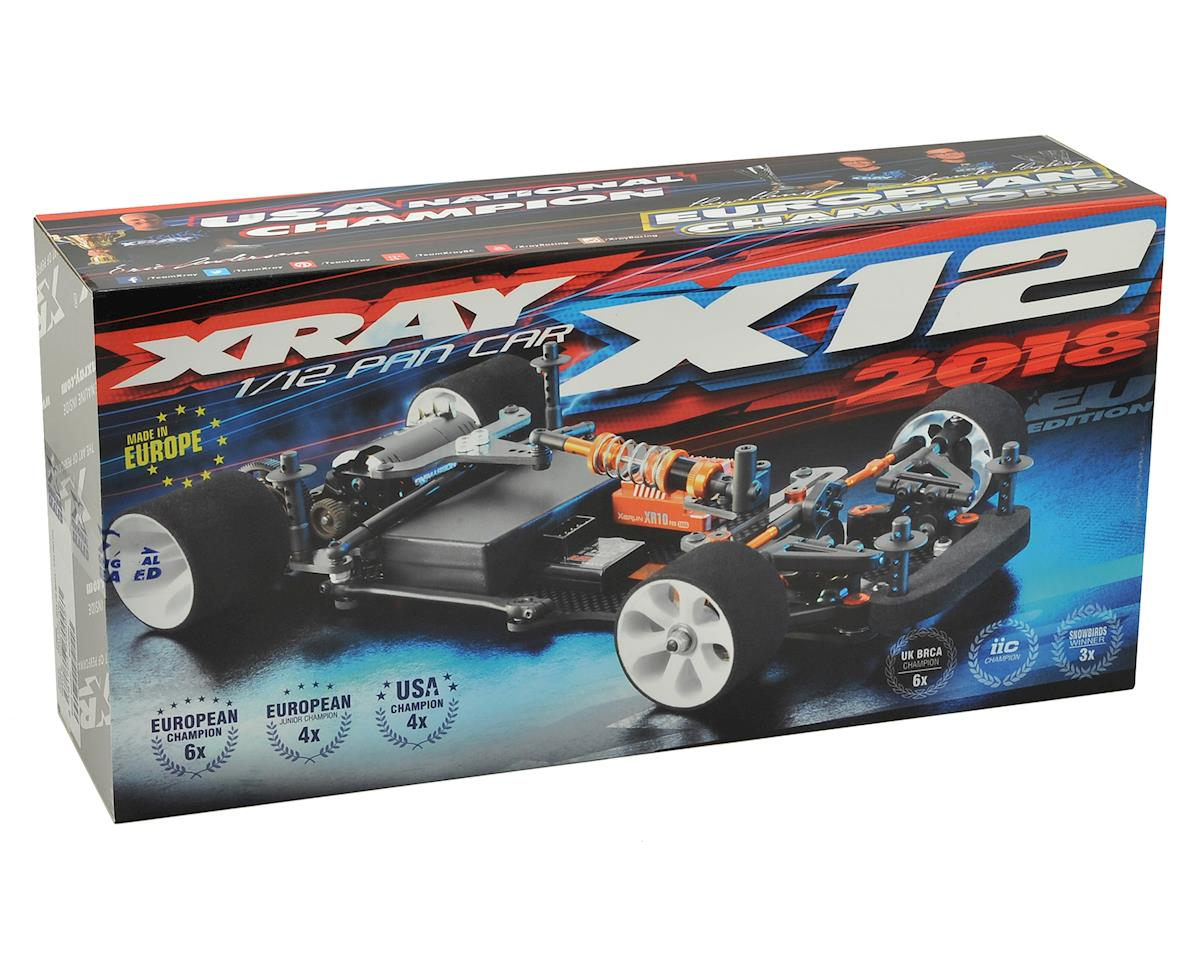 XRAY X12 2018 Link US Spec 1/12 Pan Car Kit (Aluminum Chassis)