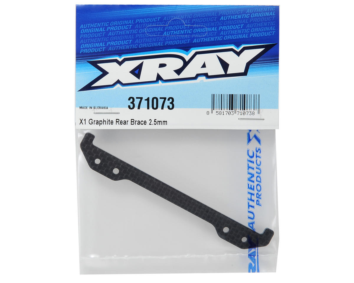 XRAY 2.5mm Graphite X1 Rear Brace