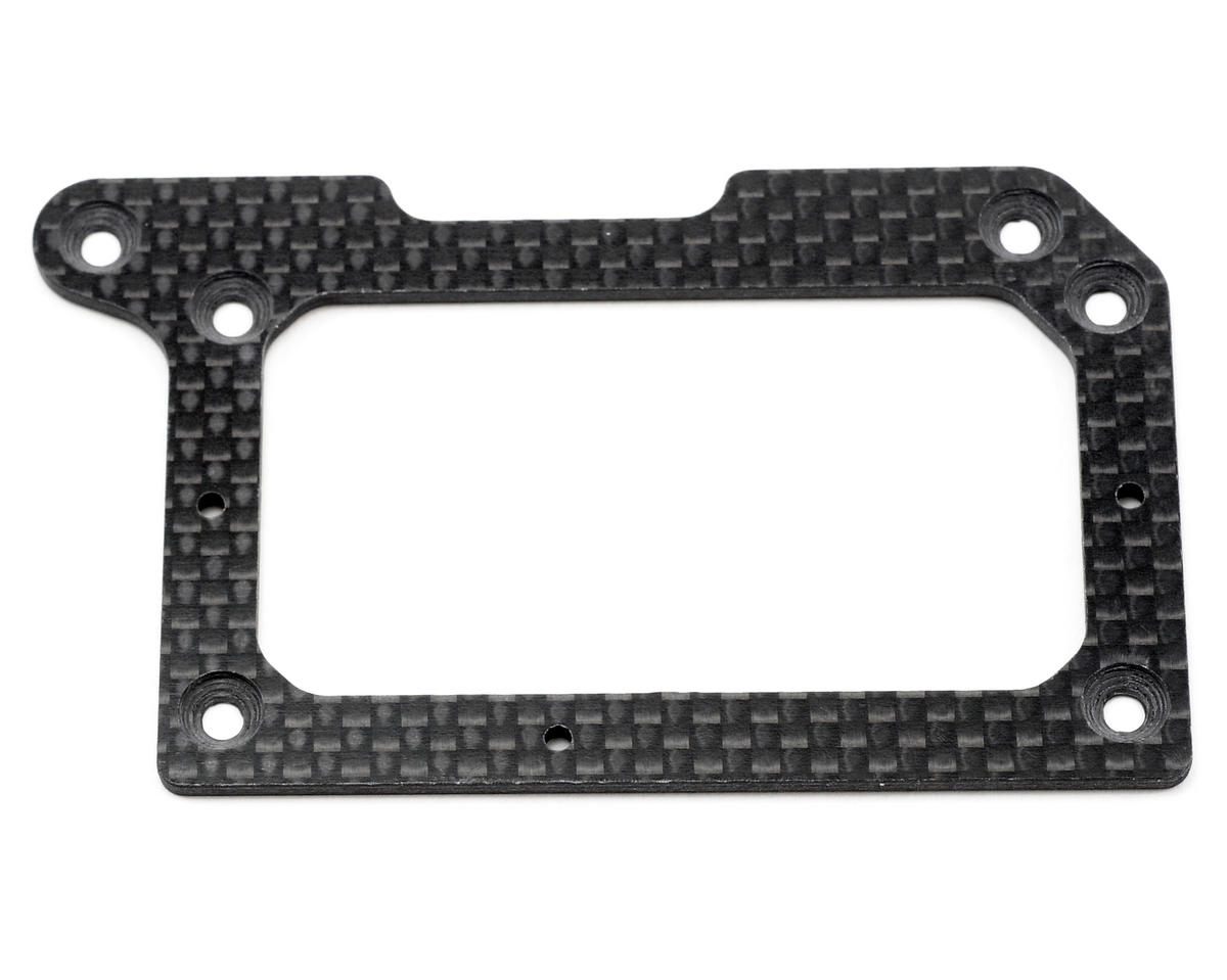 XRAY 2.0mm Graphite Rear Pod Lower Plate