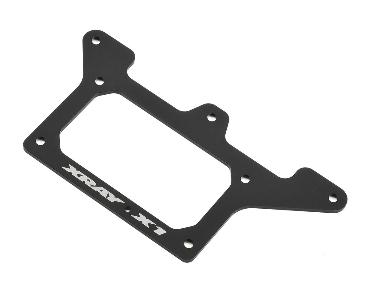 XRAY X1 2018 2.0mm Aluminum Rear Pod Lower Plate