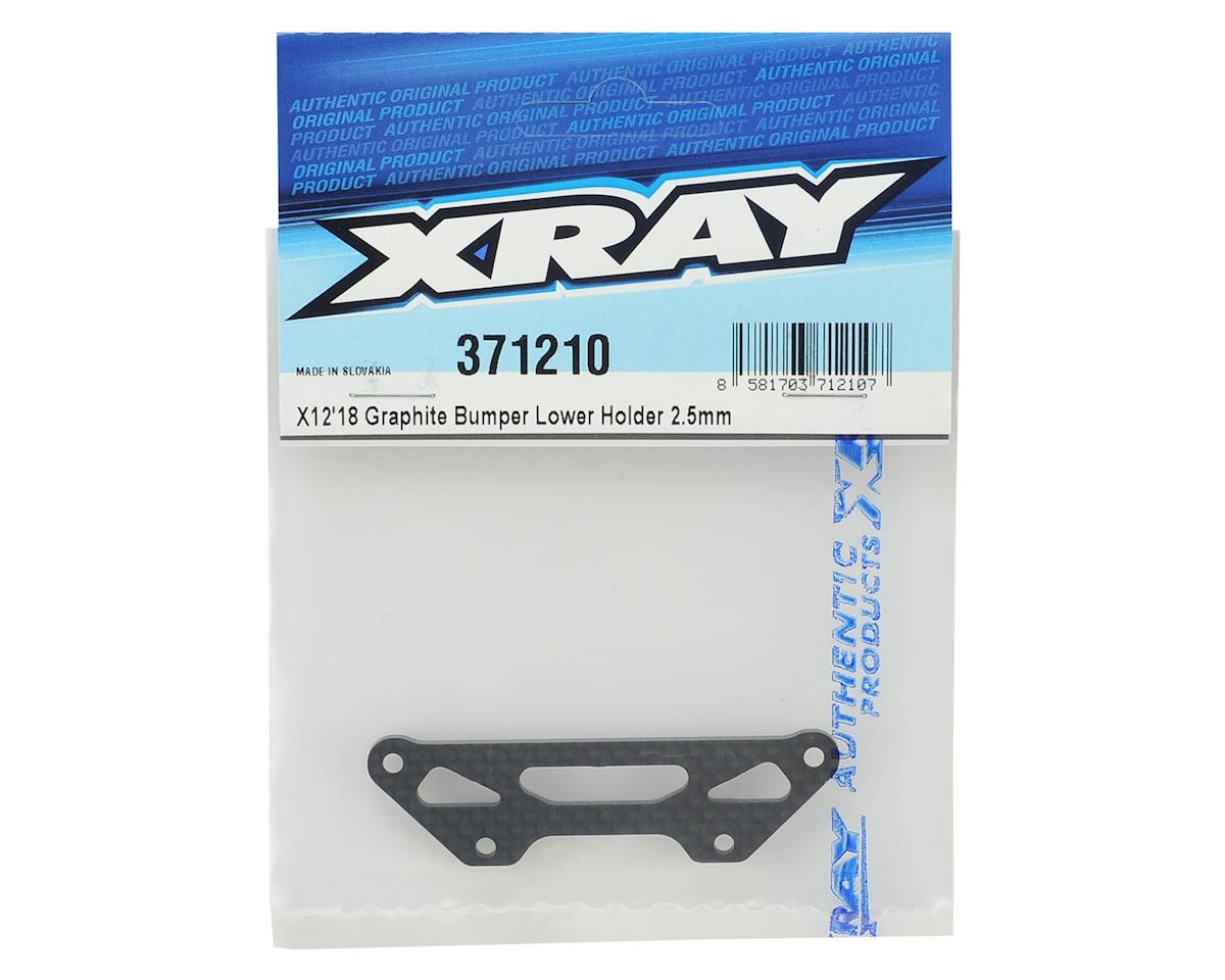 XRAY X12 2.5mm Graphite Bumper Lower Holder
