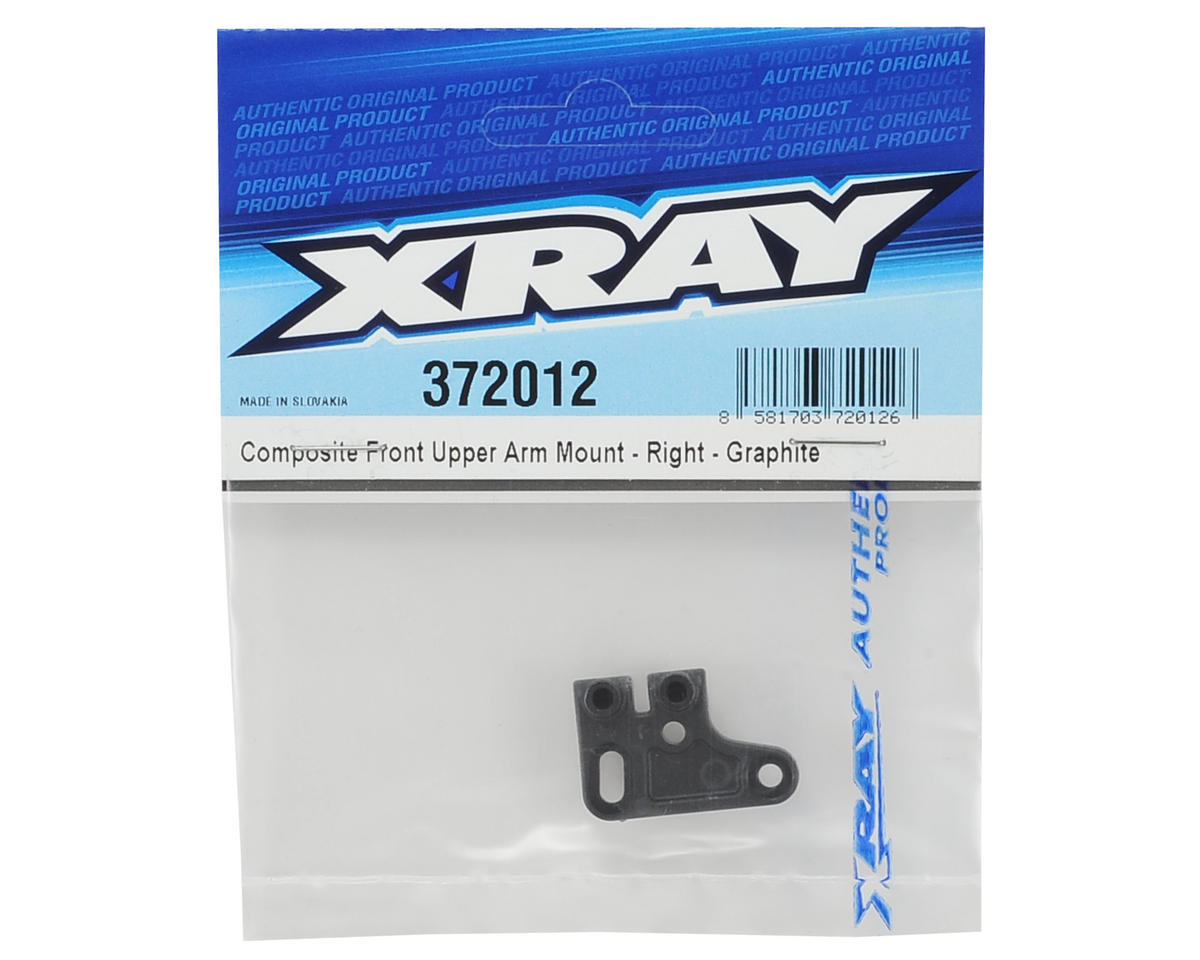 XRAY Composite Front Upper Arm Mount (Right) (Graphite)