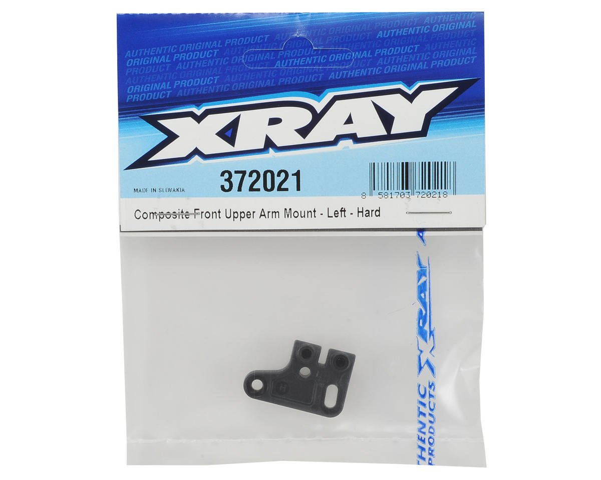 XRAY Composite Front Upper Arm Mount (Left) (Hard)