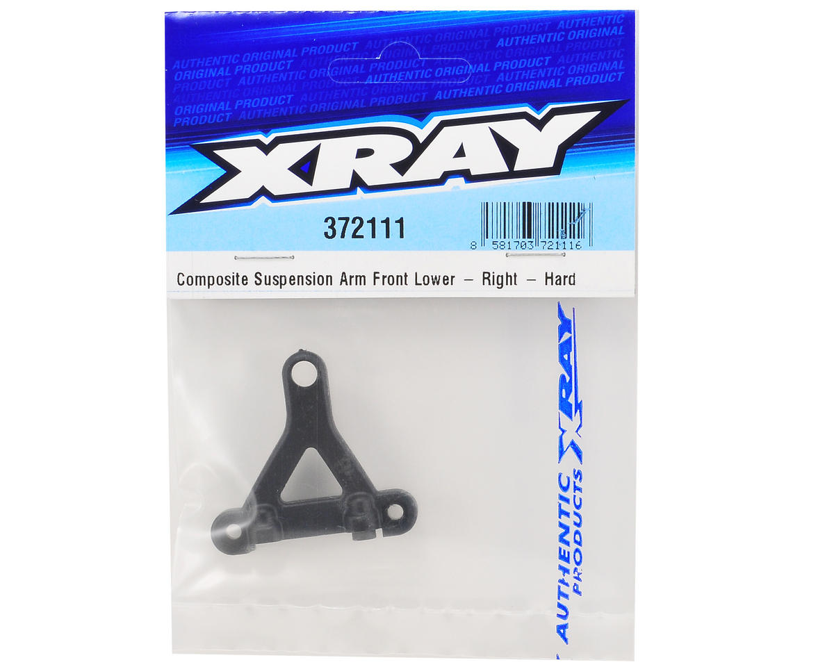XRAY Right Front Lower Composite Suspension Arm (Hard)