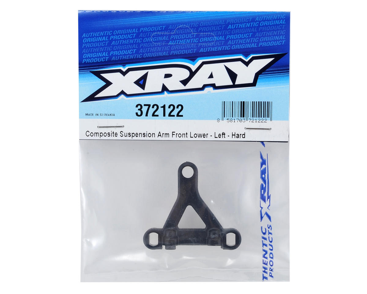 XRAY X12 2014 Left Front Lower Composite Suspension Arm (Hard)