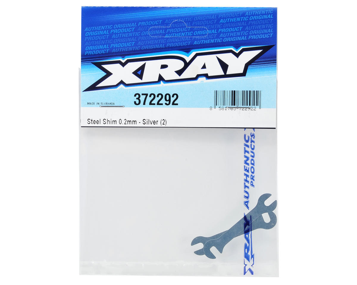 XRAY 0.2mm Steel Shim (Silver) (2)