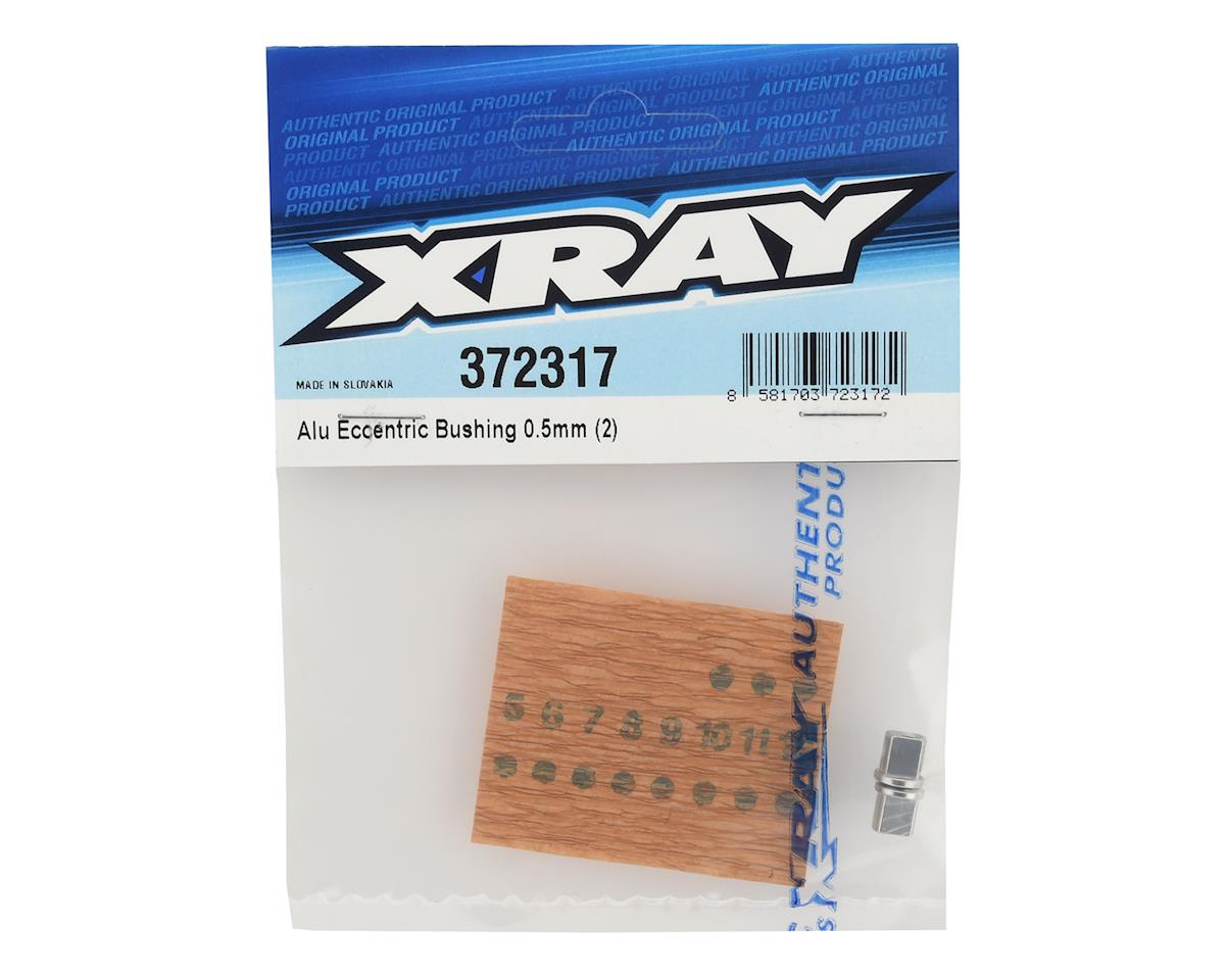 0.5mm Aluminum Eccentric Bushing (2) by XRAY