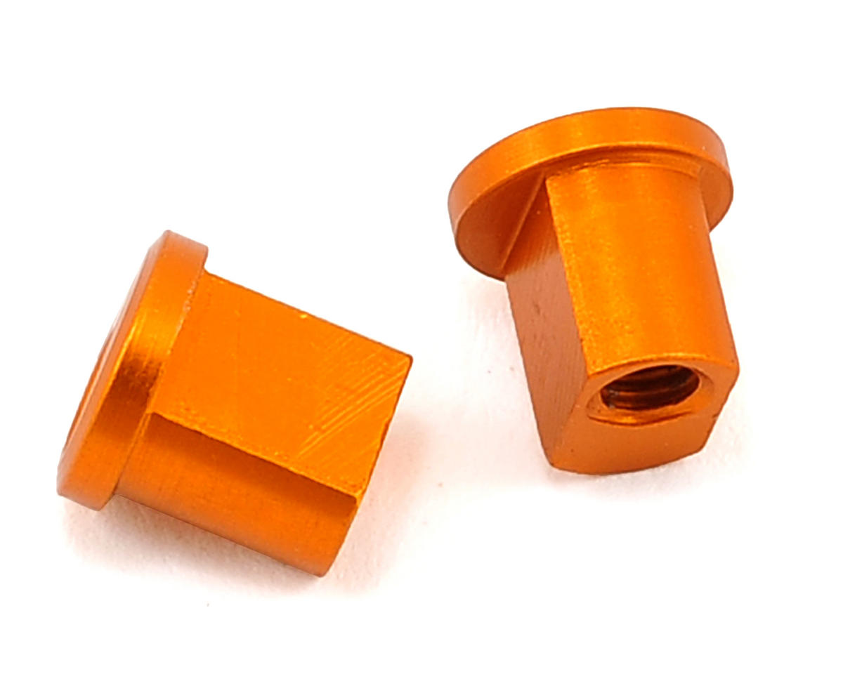 XRAY 1.0mm Aluminum Eccentric Bushing (Orange) (2)