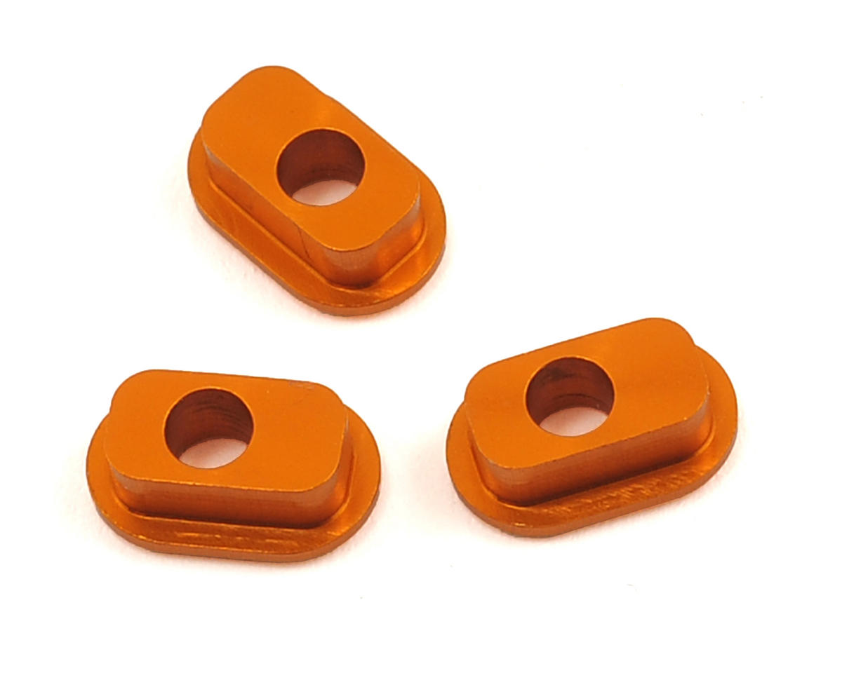 X1 Aluminum 1 Dot Bushing (Caster 6-9) (3) by XRAY