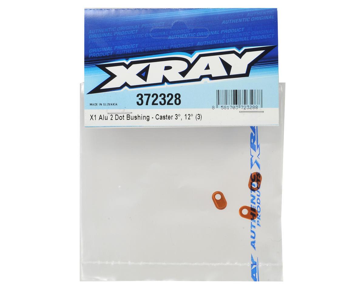 XRAY X1 Aluminum 2 Dot Bushing (Caster 3-12) (3)
