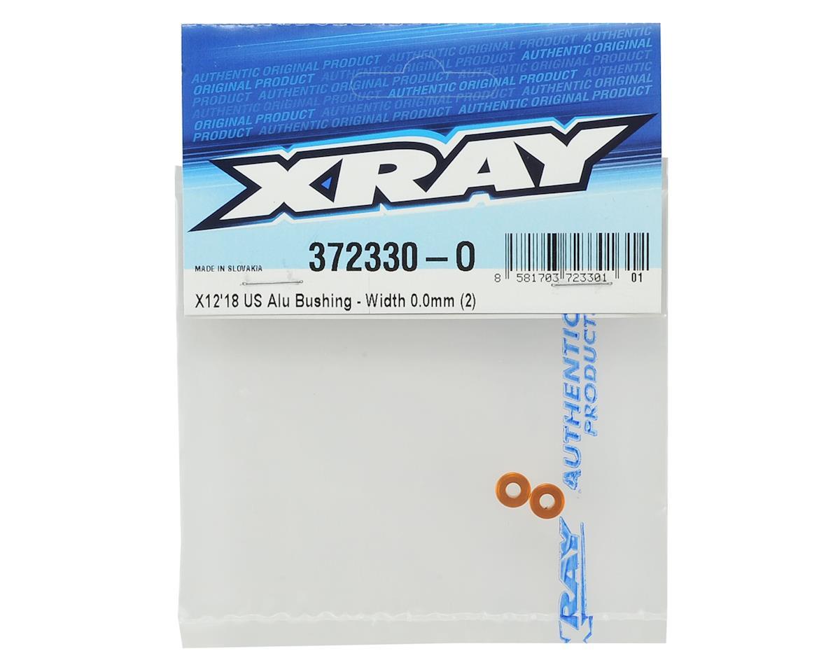 XRAY X12 US 0.0mm Aluminum Bushing (2)