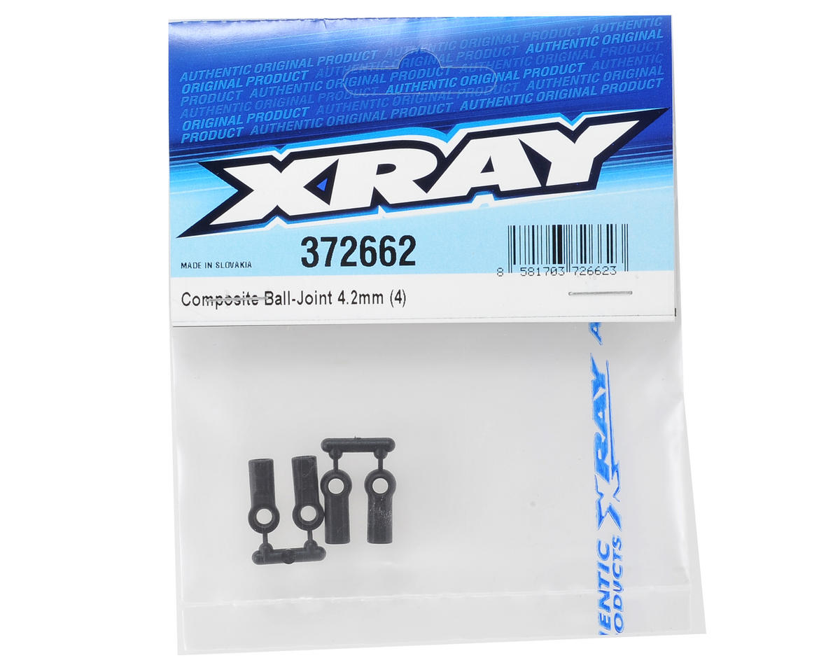 XRAY 4.2mm Composite Ball-Joint (4)