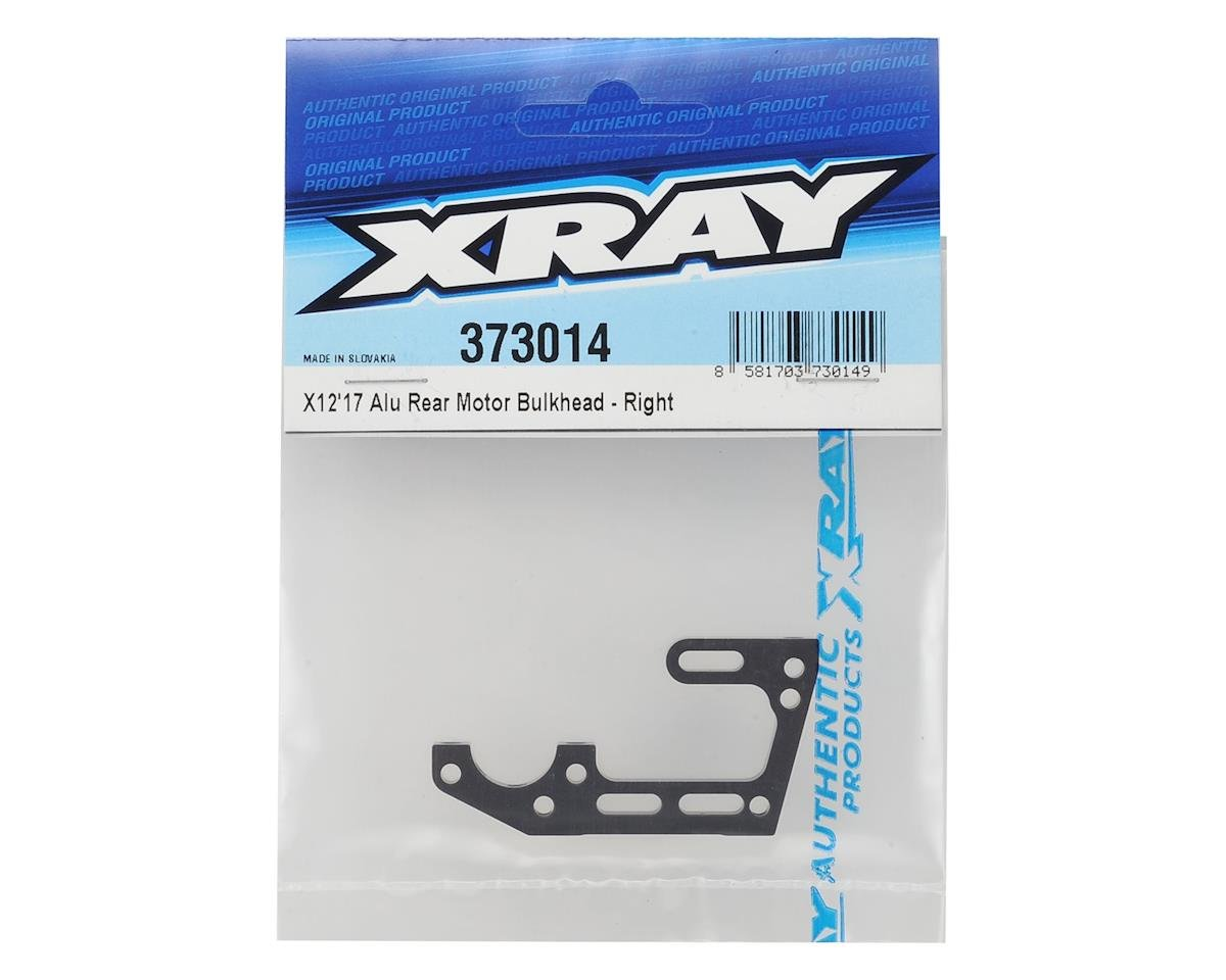 X12 2017 Aluminum Rear Bulkhead (Right) by XRAY