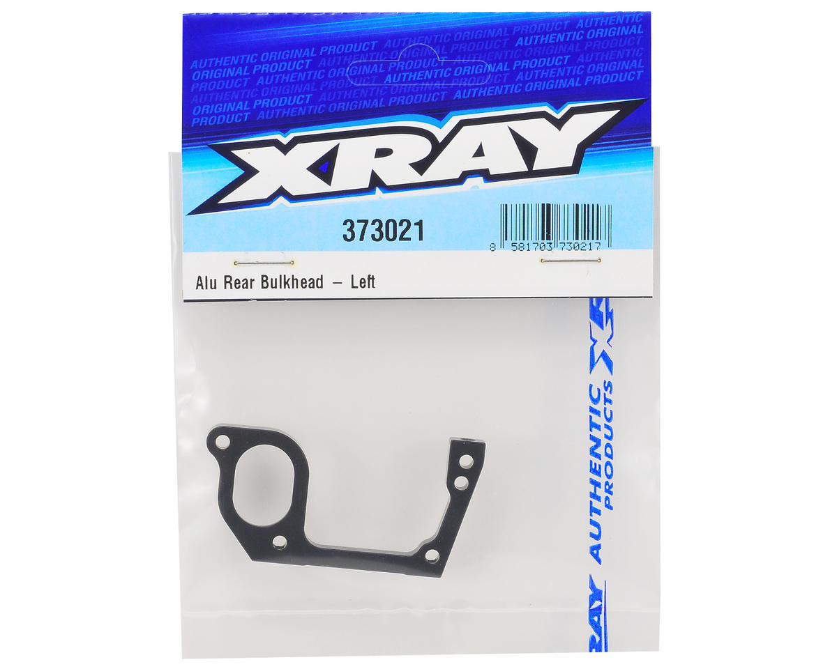 XRAY Aluminum Left Rear Bulkhead
