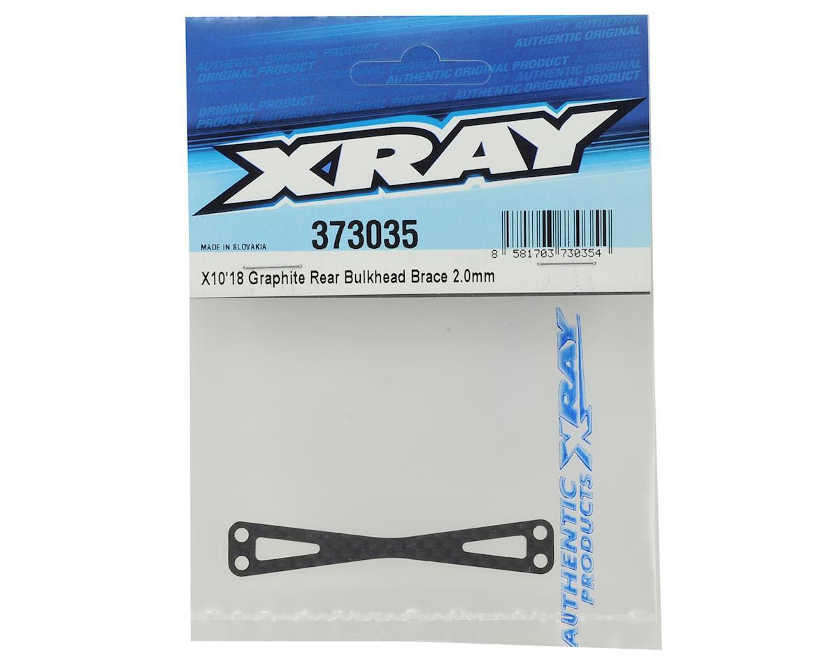 XRAY X10 2018 Graphite Rear Bulkhead Brace