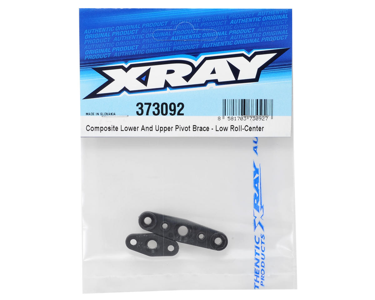 XRAY Composite Lower & Upper Low Roll-Center Pivot Brace