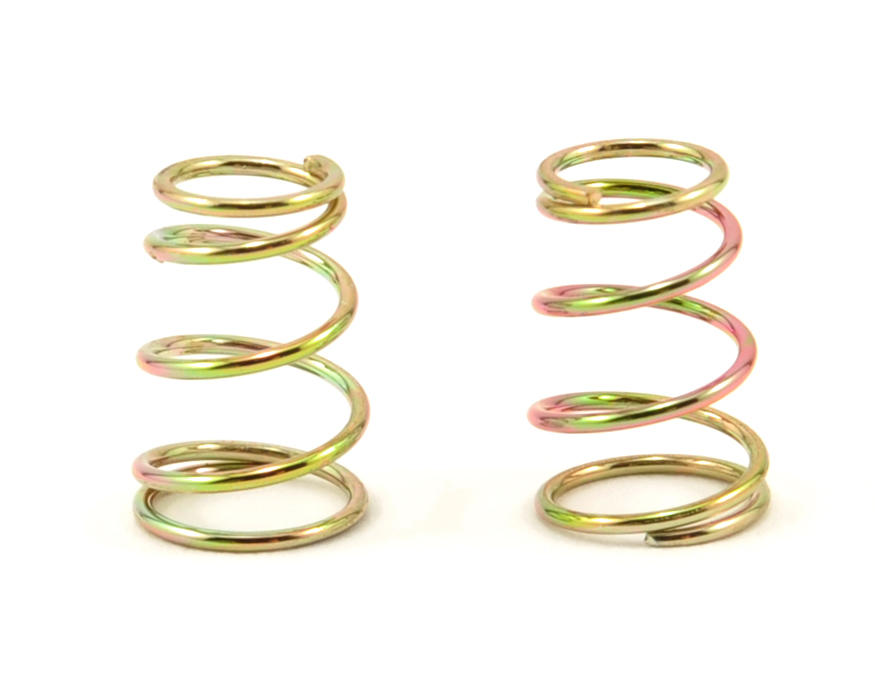 XRAY Tapered Spring Set (Gold - C=1.4) (2)