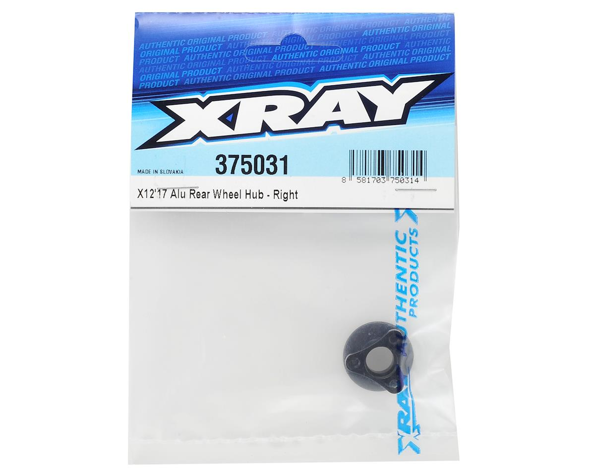 X12 2017 Aluminum Rear Wheel Hub (Right) by XRAY