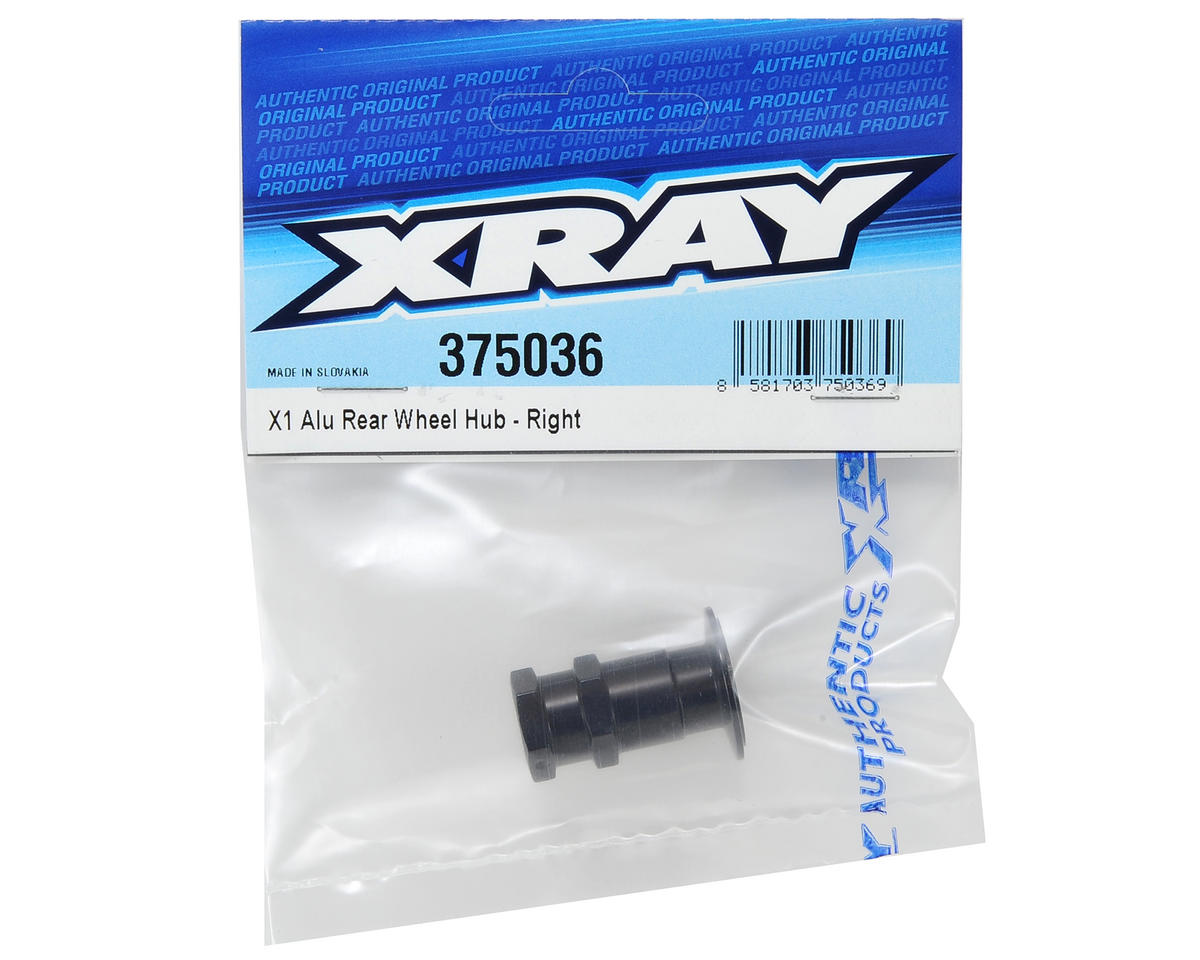 XRAY Aluminum X1 Rear Wheel Hub (Right)