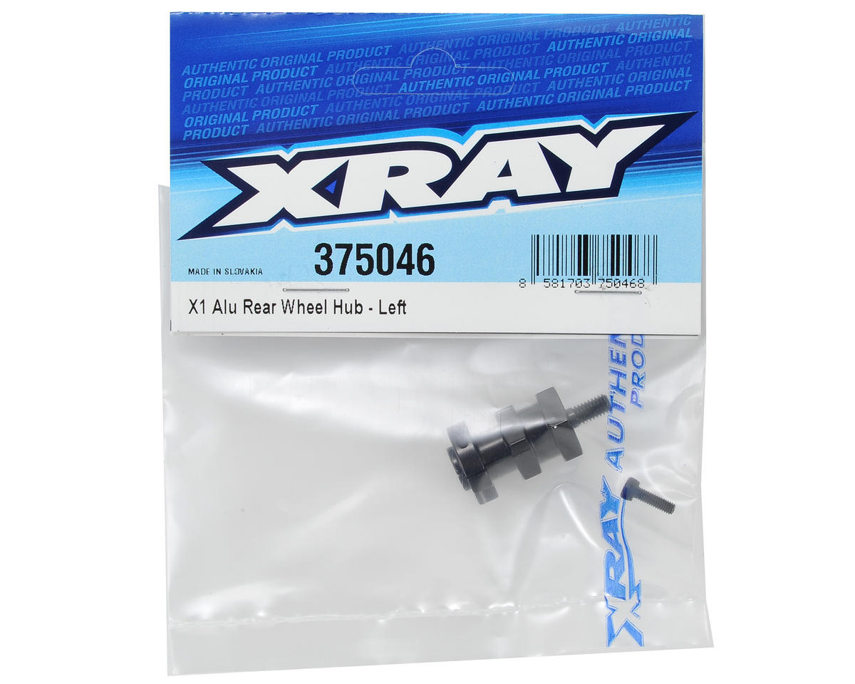 X1 Aluminum Rear Wheel Hub (Left) by XRAY