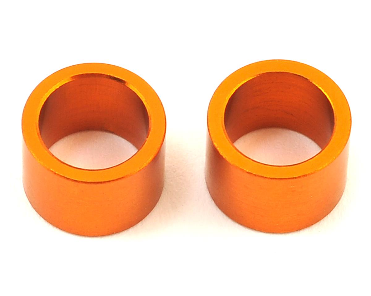 XRAY 6.37X8.4X6.0mm Aluminum Shim (Orange) (2)