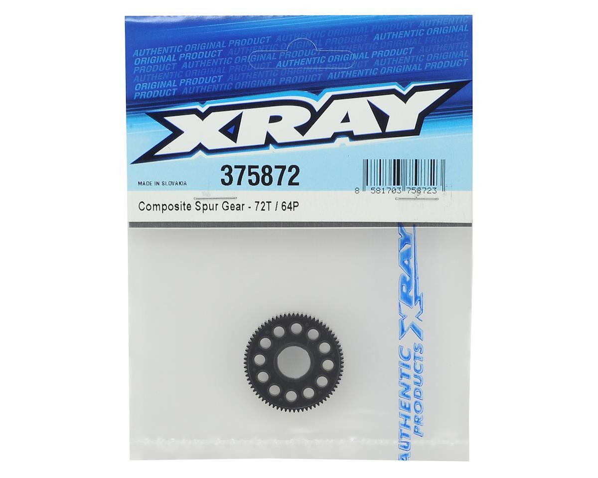 XRAY 64P Composite Spur Gear (72T)