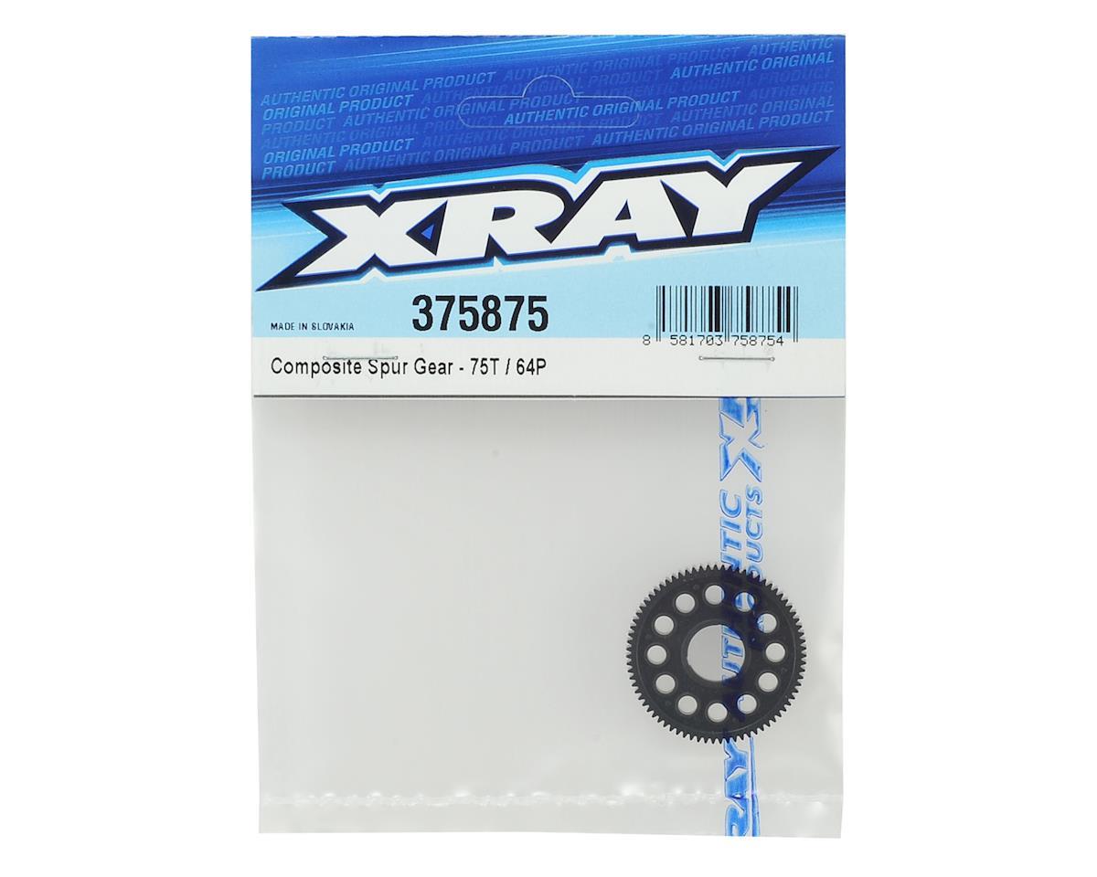 XRAY 64P Composite Spur Gear (75T)