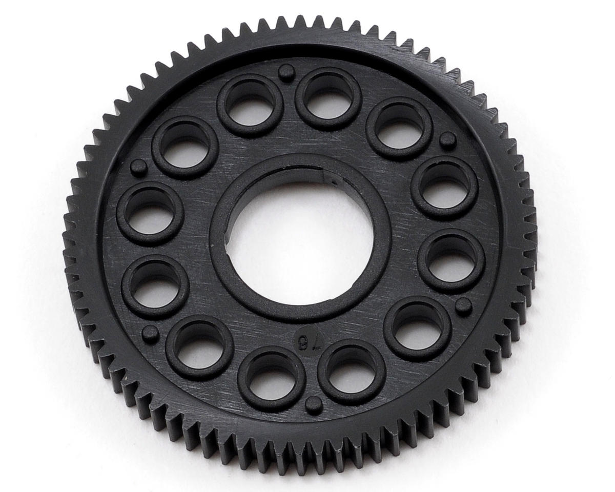 64P Composite Spur Gear (76T) by XRAY
