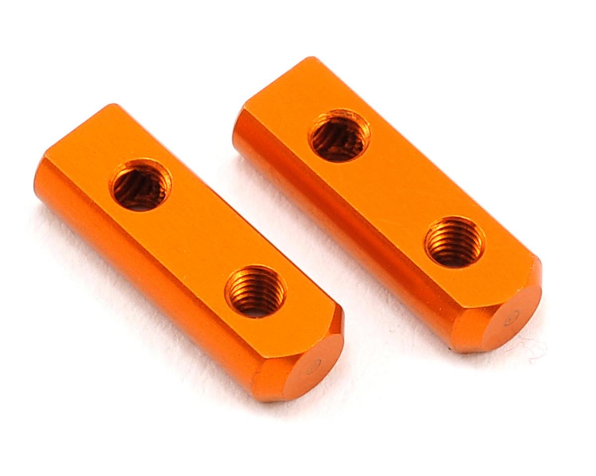 XRAY Aluminum Servo Mount (Orange) (2)