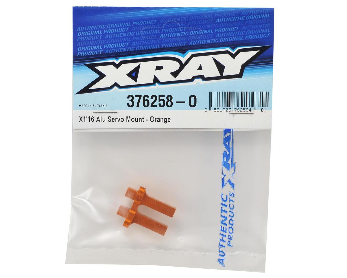 XRAY X1 2016 Aluminum Servo Mount (Orange)
