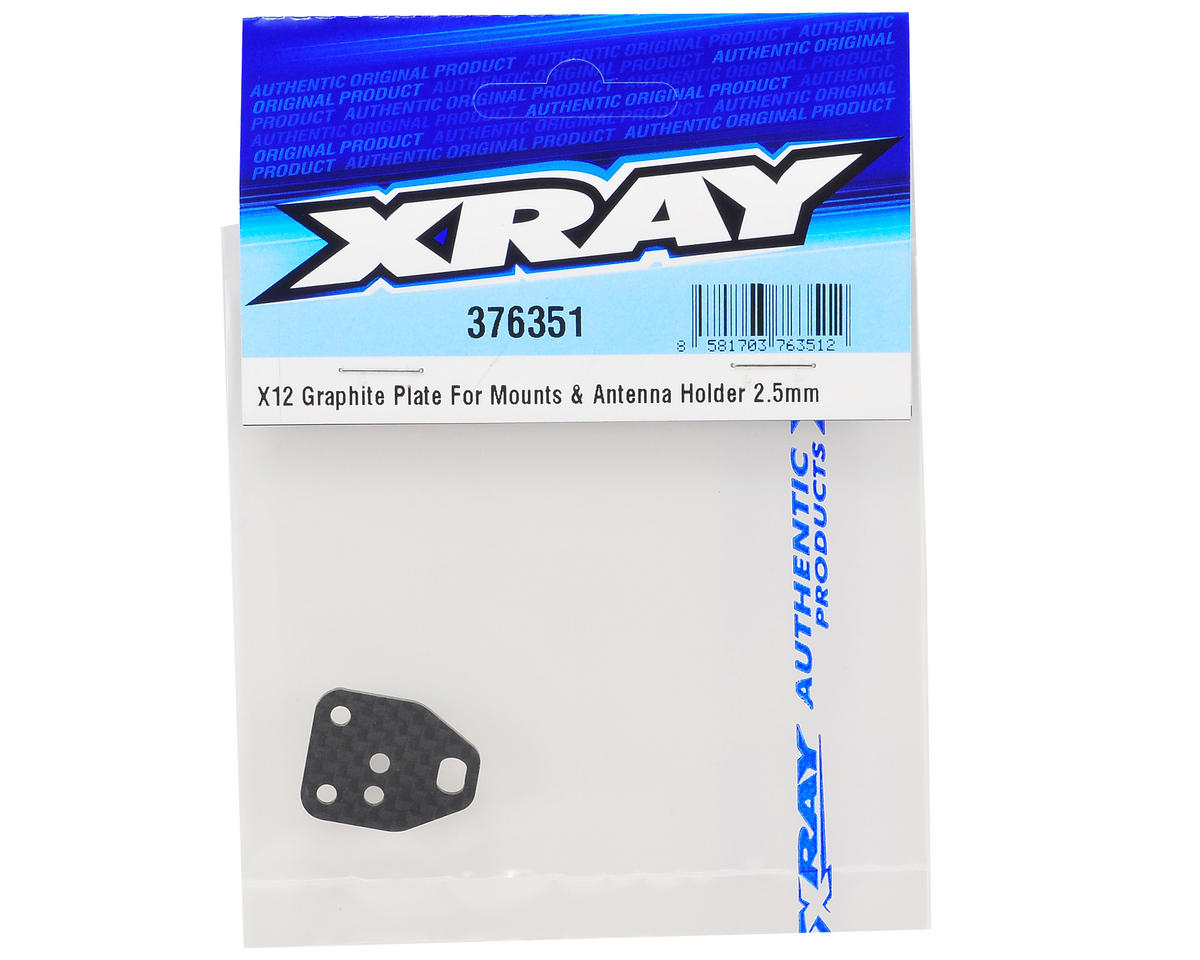 XRAY 2.5mm Graphite Antenna Holder Plate