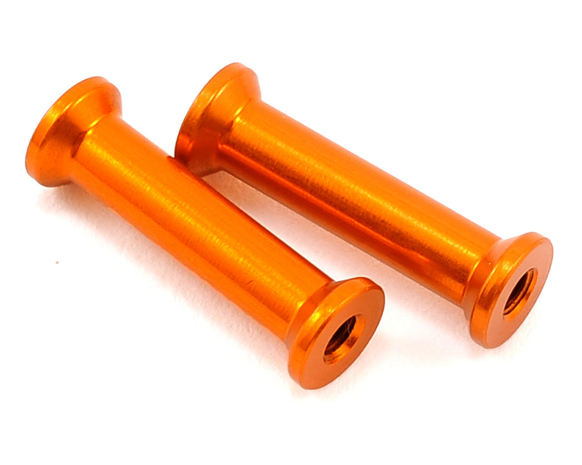 XRAY 21.0mm Aluminum Antenna Holder Mount (Orange) (2)