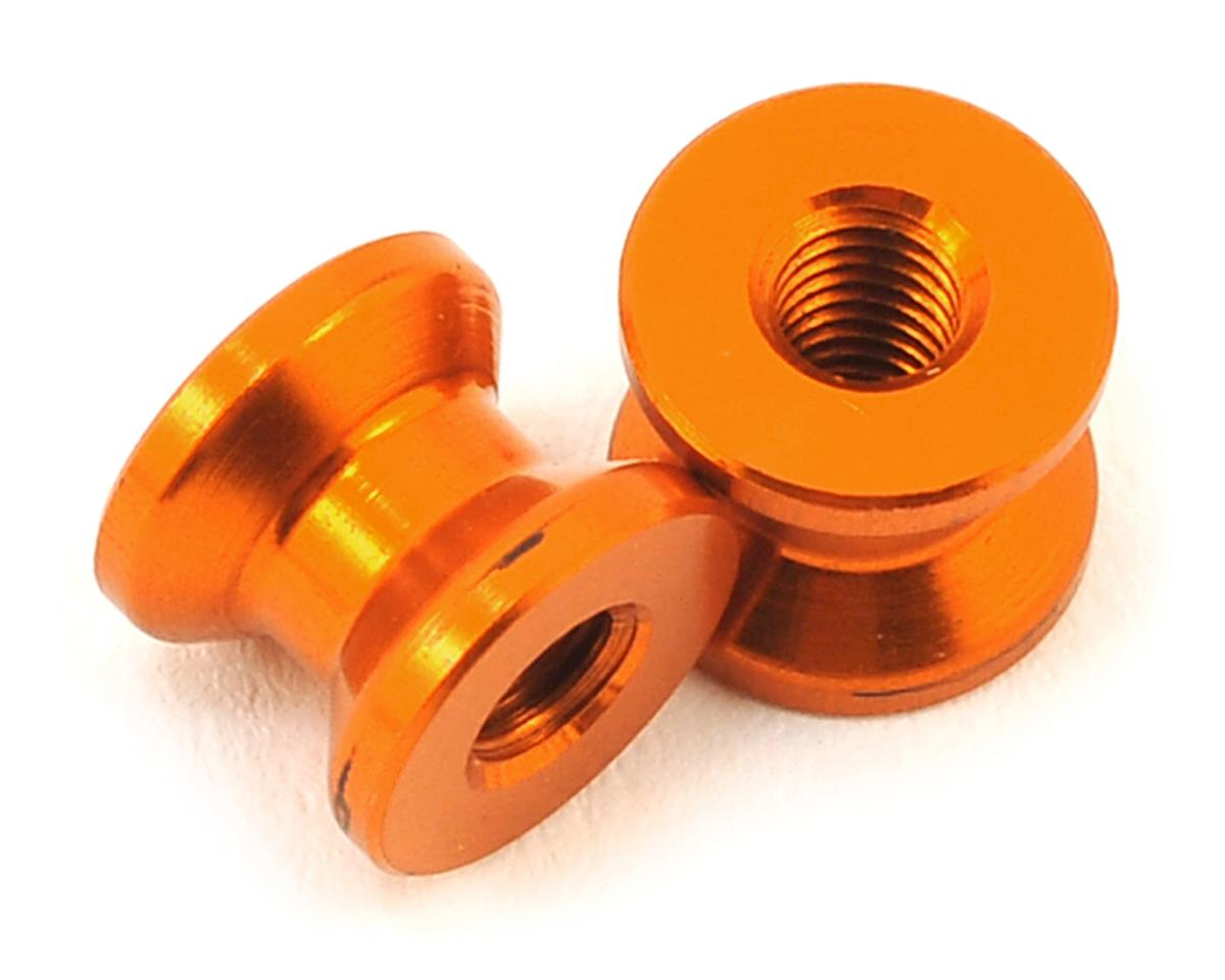 XRAY 6.0mm Aluminum Mount (Orange) (2)
