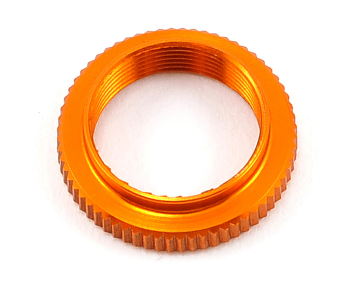 XRAY Aluminum Shock Adjustable Nut (Orange)