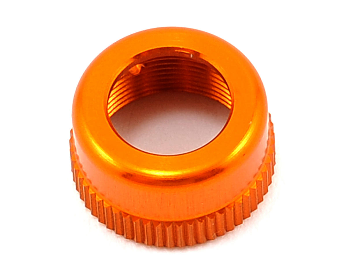 XRAY Aluminum Upper Shock Body Cap (Orange)