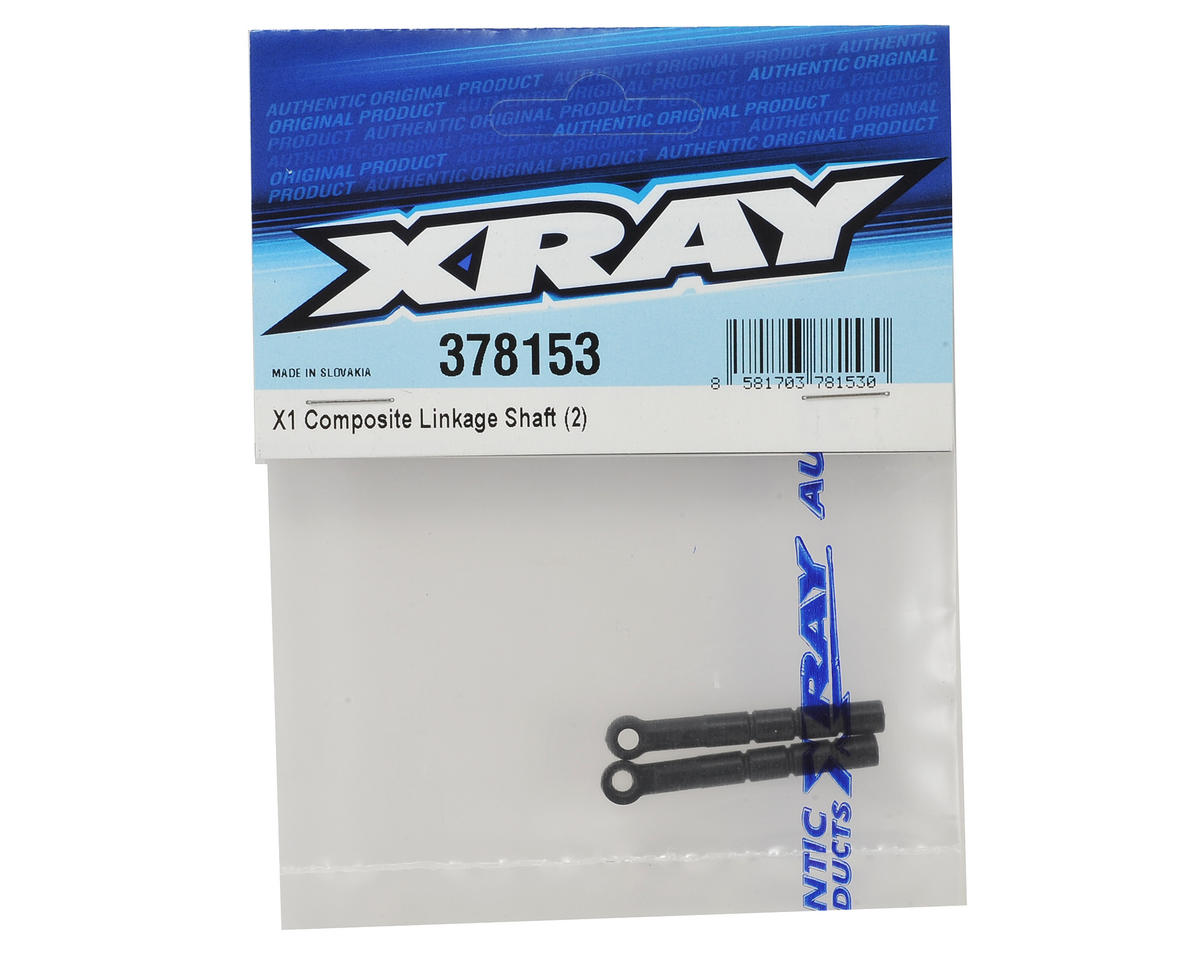 XRAY X1 40.2mm Composite Linkage Shaft (2)
