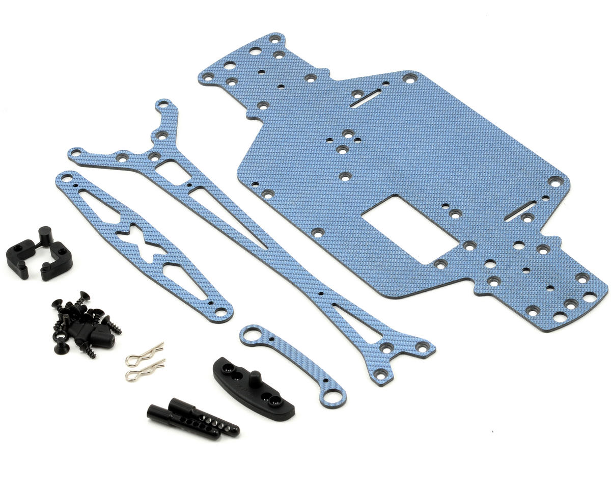 XRAY M18 Pro LiPo Graphite Set (Blue)