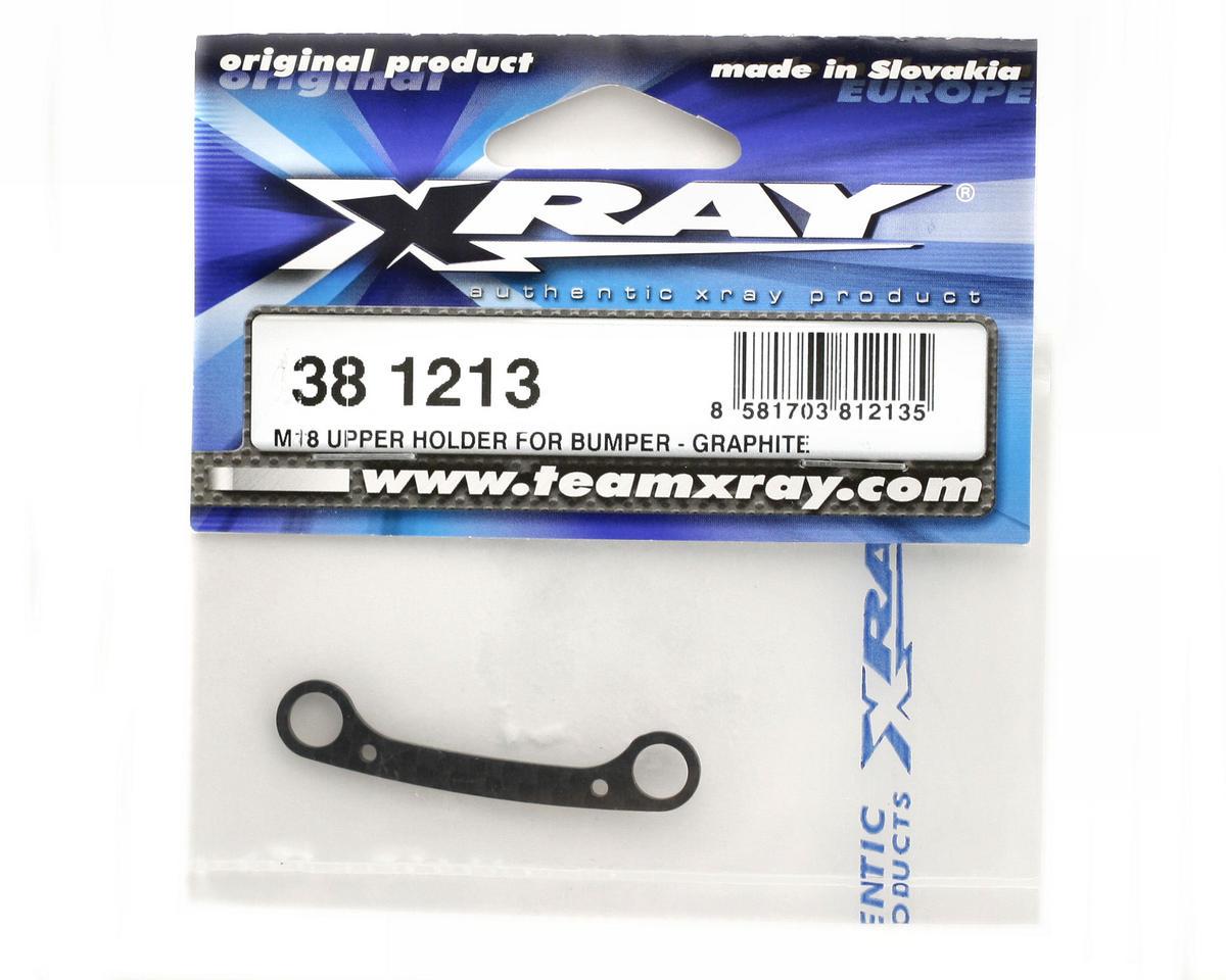 XRAY M18 Upper Holder For Bumper - Graphite