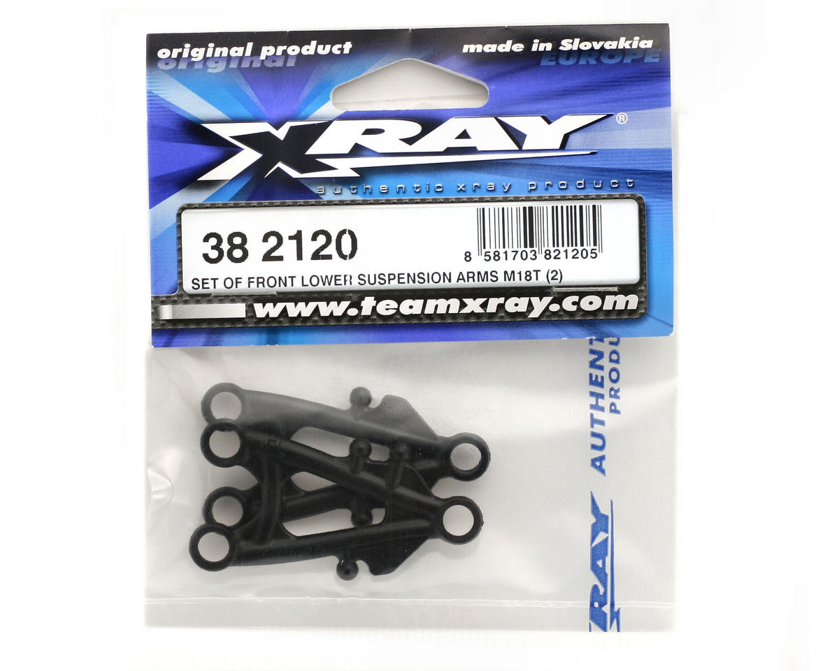 XRAY Front Lower Suspension Arms (M18T) (2)