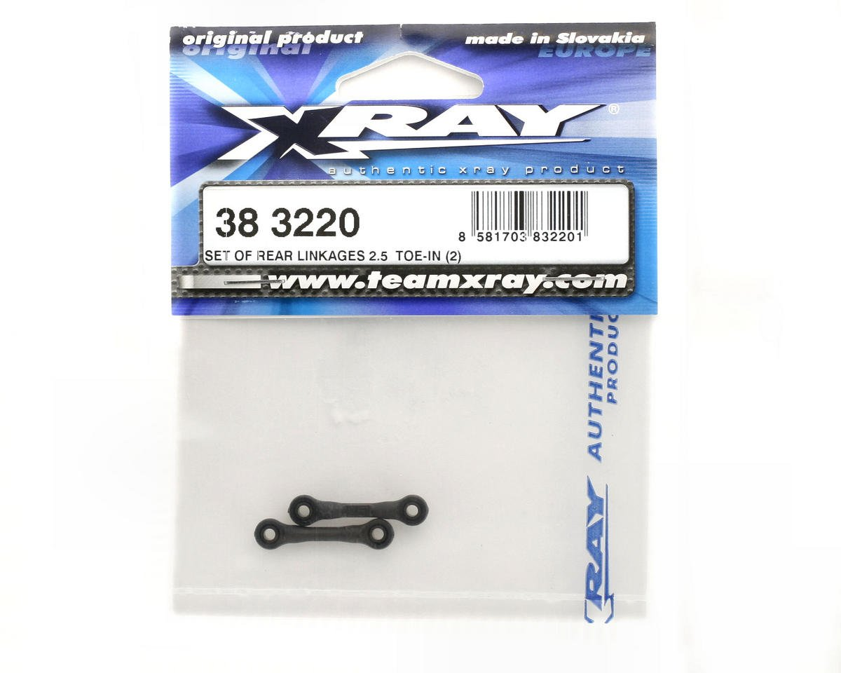 XRAY Rear Linkages 2.5° Toe-In (2)