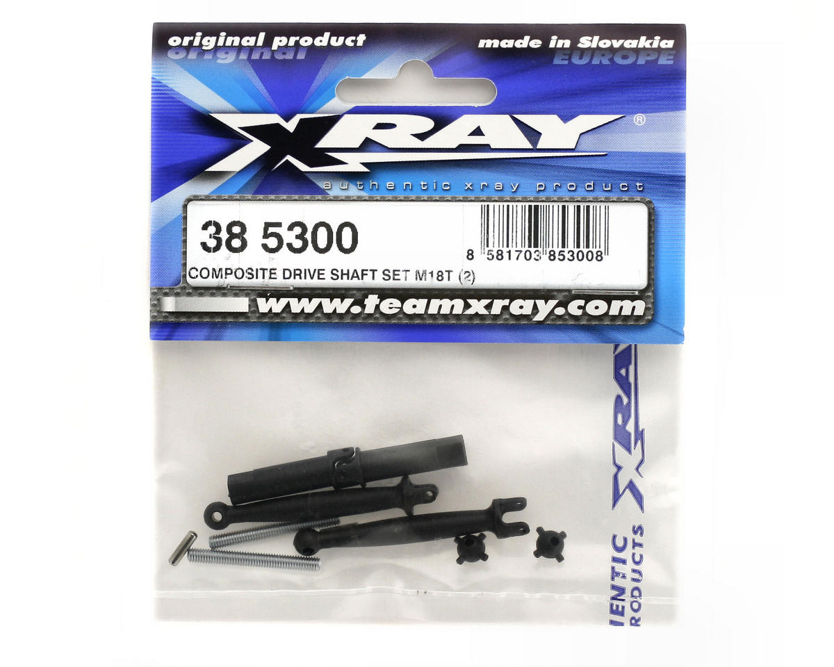 XRAY Composite Driveshaft Set (M18T) (2)