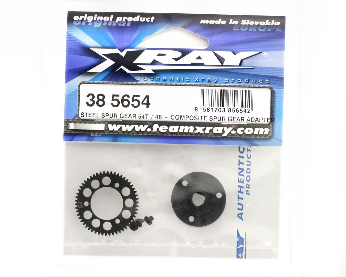 XRAY Steel Spur Gear 54T / 48 + Composite